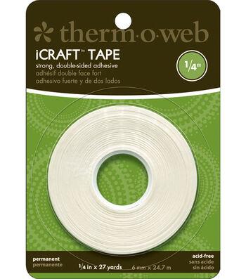 """iCraft Tape-.25""""x27 Yds"""