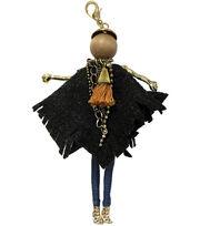 Laliberi Bohemian Doll Pendant-Black Poncho Echo, , hi-res