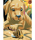 Paint By Number Kit 5X7-Labrador Puppies/Junior