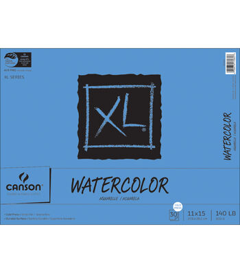 "Proart-Canson Bound Watercolor Pad 11""X15"" 30 Sheets-140# Cold Press"