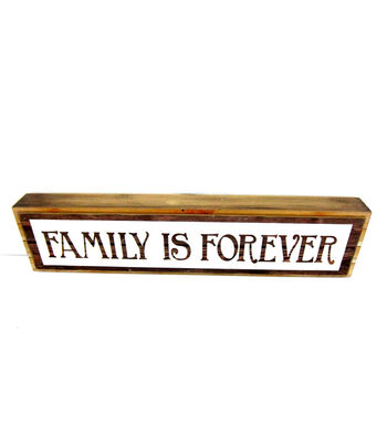 Fall Into Color Family Forever Long Table Block