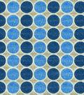 HGTV Home Upholstery Fabric-Round Trip Azure