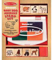 Melissa & Doug Baby Zoo Animals Stamp Set, , hi-res