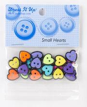 Jesse James Dress It Up Button Basics-Small Hearts, , hi-res