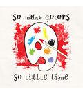 Attitude Artist Apron Natural-So Many Colors