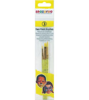 Snazaroo Face Painting Brush 3pk