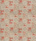 SMC Designs Upholstery Fabric 54\u0022-Buster/Cinnabar