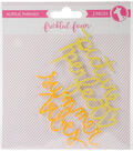 Freckled Fawn 2 pk Acrylic Phrases-Summer Vibes & Picture Perfect