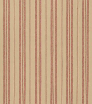 """French General Upholstery Fabric 54""""-Bountiful/Rural Red"""
