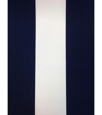 "Outdoor Fabric 54""-Baja Stripe Navy"