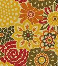 Home Decor 8\u0022x8\u0022 Fabric Swatch-Waverly Button Blooms Harvest