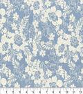 Keepsake Calico™ Cotton Fabric 44\u0022-Maryjane Sky