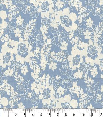 """Keepsake Calico™ Cotton Fabric 44""""-Maryjane Sky"""