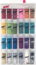 American Crafts Wow! Extra-Fine Glitter 24 pack