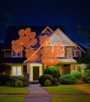 Clemson University Tigers Team Pride Light, , hi-res