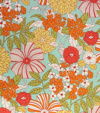 """Home Essentials Print Fabric 45""""-Valmy Garden"""