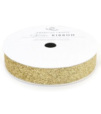 5/8In Glitter Gold