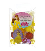 Jesse James Disney Craft Beads For Jewelry-Belle, , hi-res