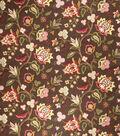 Home Decor 8\u0022x8\u0022 Fabric Swatch-Eaton Square Bearings Coffee