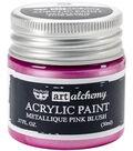 Met Pink B-art Acrylc Paint 1.7