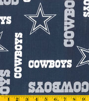 "Dallas Cowboys Vinyl Fabric 54""-Logo, , hi-res"