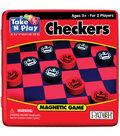 Take N Play Anywhere Game Tin-Checkers
