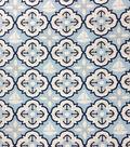 Magic Moon™ Cotton Fabric 43\u0022-Nautical Quatrefoil