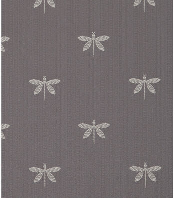 """SMC Designs Upholstery Fabric 54""""-Imperial Dragonfly Graphie"""
