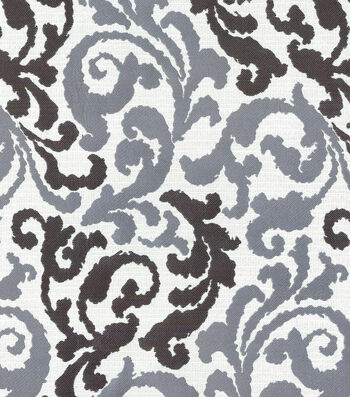 "Kelly Ripa Upholstery Fabric 58""-Graceful Curves Ebony"