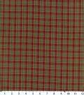 Homespuns Cotton Fabric 44\u0022-Red, Green, Blue Plaid