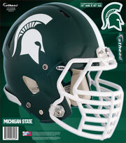 Michigan State University Spartans Fat Head Wall Decal-Helmet, , hi-res