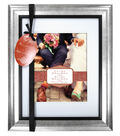 Wedded Bliss Wall Frame 11X14 To 8X10-Silver Black