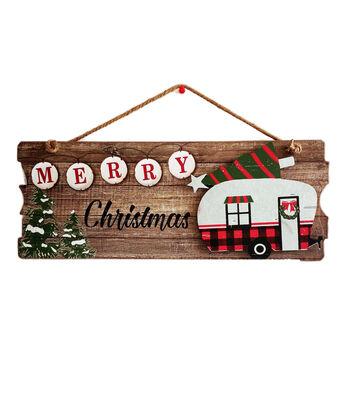 Maker's Holiday Christmas Galvanized Wall Decor-Merry Christmas