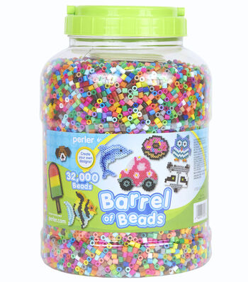 Perler® 32000-Pieces Barrel Beads