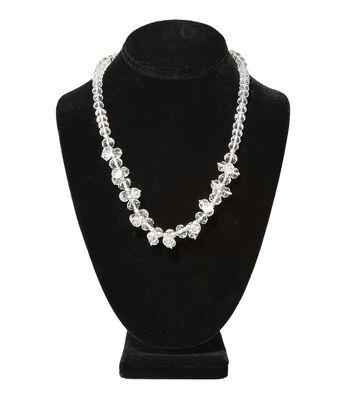 Short Cluster Necklace Crystal