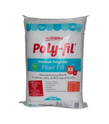 Poly-Fil  32 oz. Premium Polyester Fiber Fill