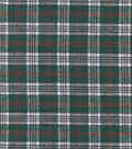 Flannel Shirting Cotton Red Green Black