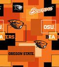 Oregon State University Beavers Cotton Fabric 43\u0027\u0027-Modern Block