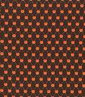 Holiday Showcase™ Harvest Cotton Fabric 43\u0022-Pumpkin Diamonds
