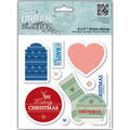 Docrafts Papermania Christmas In The Country Urban Stamps Tags