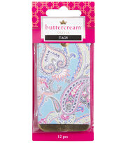Buttercream™ Olivia Collection Trendy Foil Tags, , hi-res