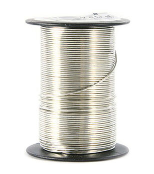 Jewelry wire beading wire stringing materials joann 20 gauge wire 12 yardspkg silver greentooth Images