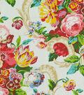 Waverly Upholstery Fabric 54\u0022-Bloomfield Spring