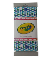 Crayola® Fabric 1yd Cut-Triangle Blue, , hi-res