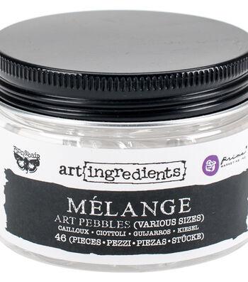Asst Sizes-art Melange Pebbles