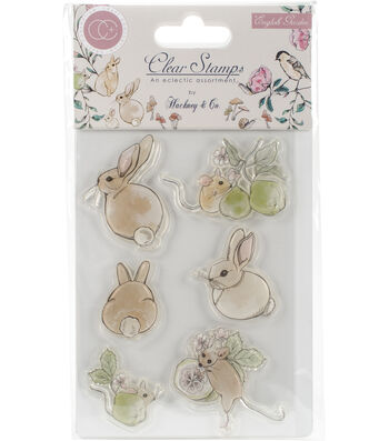 Craft Consortium A5 English Garden Clear Stamps