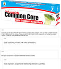 COMPLETE Common Core State Standards Kit for Math Grade 7