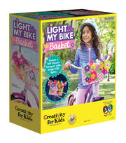 Creativity For Kids Light My Bike Basket Kit, , hi-res