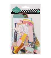Heidi Swapp Mixed Media Ephemera Die-Cuts 73/Pkg-Cardstock & Vellum Shapes, , hi-res