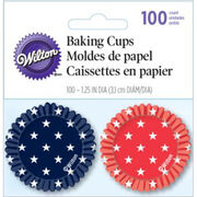 Wilton® Mini Cup Red White Blue 100ct, , hi-res